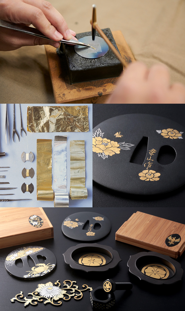 京象嵌の製品製造